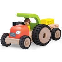 Voertuig Wonderworld Tractor 10x18x14 cm