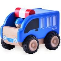 Voertuig Wonderworld Politieauto 9x14x14 cm