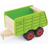 Houten aanhangwagen voor tractor Pintoy