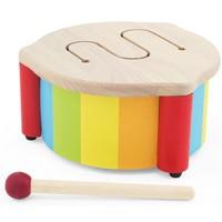 Houten drum met stokje Pintoy