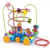 Kralenframe New Classic Toys: boerderij 20x20x25 cm