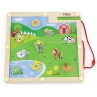 Magnetisch spel New Classic Toys: boerderij 23x23 cm