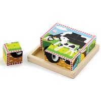 Puzzel New Classic Toys: boerderij 16x16 cm