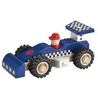 Raceauto New Classic Toys: blauw 17x9x8 cm