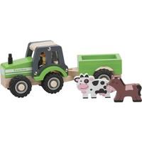 Tractor met aanhanger New Classic Toys 24x8x10 cm