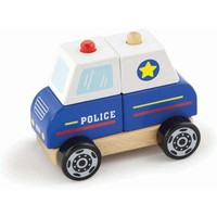 Stapel Auto New Classic Toys politie 13x10x8 cm