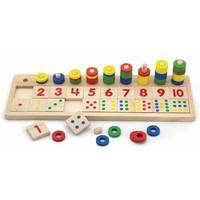 Telspel New Classic Toys: getallen 42x13x8 cm