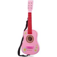 Gitaar roze New Classic Toys 60x19x6 cm