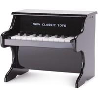 Piano zwart New Classic Toys 29x28x25 cm