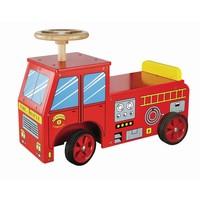 Loopauto brandweer New Classic Toys 43x60x22 cm