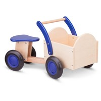 Bakfiets New Classic Toys blauw/blank 37x63x28 cm