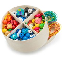 Houten kralen in box New Classic Toys 8x14x24 cm