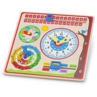 Kalenderklok New Classic Toys 30x30x3 cm
