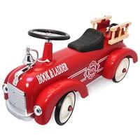 Metalen brandweerwagen Simply for Kids 75x26x24 cm