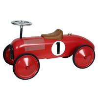 Metalen racewagen rood Simply for Kids 75x24x24 cm
