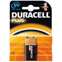 Batterij Duracell Plus Power MN 1604 9 volt