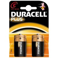 Batterijen Duracell Plus Power MN 1400 C: 2 stuks