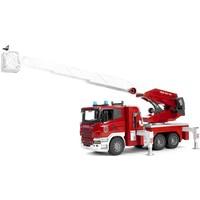 Scania R brandweerladderwagen Bruder