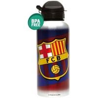 Bidon barcelona blauw/rood aluminium flag: 400 ml