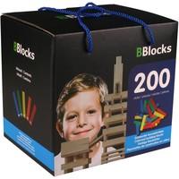 Bblocks 200 stuks in doos gekleurd