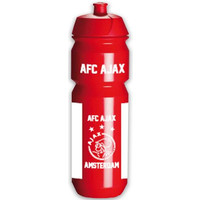 Bidon ajax wit/rood/wit AFC: 750 ml
