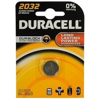 Knoopcel Duracell Professional Lithium CR2032: 3V