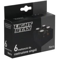 Uitbreiding Light Stax junior: zwart 6 stuks 2x2
