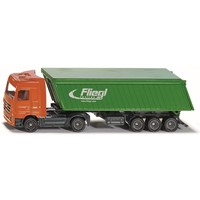 Vrachtwagen met kipoplegger en dak SIKU