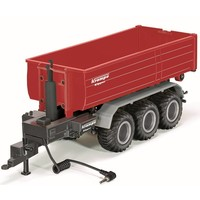 Haaklift chassis 3-assig met afzetcontainer SIKU