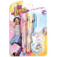 Gelpennen uitwisbaar Soy Luna: 3 stuks