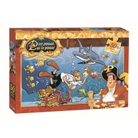 Piet Piraat Puzzel haai 50 stukjes