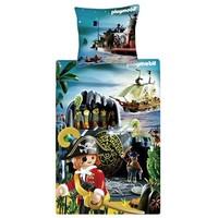 Dekbed Playmobil treasure island: 140x200/65x65 cm