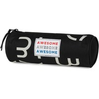 Etui Awesome Boys black: 8x23x8 cm