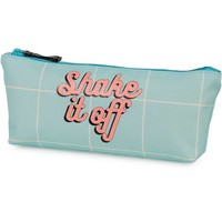 Make-Up Bag Awesome Girls blue: 9x21x4 cm