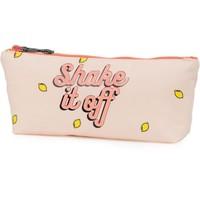 Make-Up Bag Awesome Girls pink: 9x21x4 cm