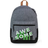 Rugzak Awesome Boys grey: 42x30x16 cm