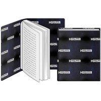 Boekenkaft rekbaar Hardwell: 22x40 cm