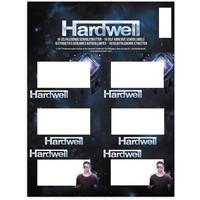Etiketten Hardwell 18 stuks