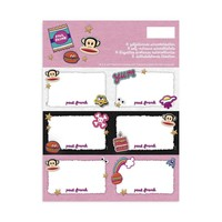 Etiketten Paul Frank Girls 18 stuks