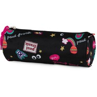 Etui Paul Frank Girls black: 8x23x8 cm
