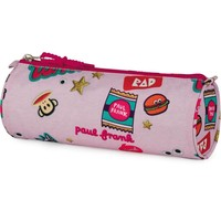 Etui Paul Frank Girls pink: 8x23x8 cm