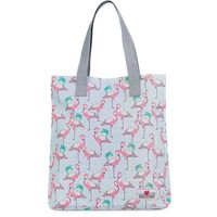 Shopper Awesome Mermaid flamingo: 38x33x15 cm