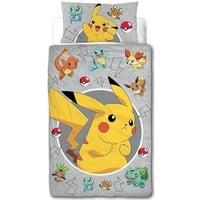 Dekbedovertrek Pokemon catch 140x200/50x75 cm