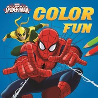 Kleurboek Spider-Man color fun