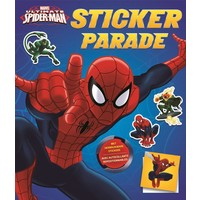 Stickerboek Spider-Man: sticker parade