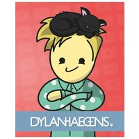 Schrift Dylan Haegens Team A5 gelijnd 3-pack