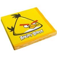Servetten Angry Birds 33x33 cm: 20 stuks