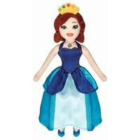Prinsessia Knuffelpop Violet 30 cm