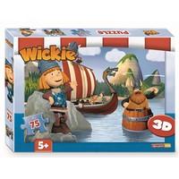 Wickie 3D Puzzel 75 stukjes