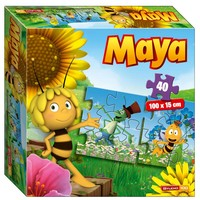 Maya de Bij Puzzel trein 40 stukjes